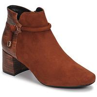 Schuhe Damen Low Boots Moony Mood NANOU Camel