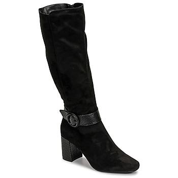 Schuhe Damen Klassische Stiefel Moony Mood NISTI Schwarz