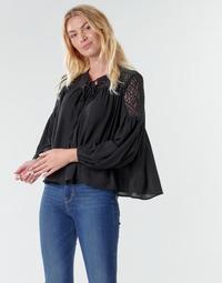 Kleidung Damen Tops / Blusen Molly Bracken R1521H20 Schwarz
