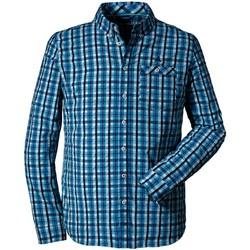 Kleidung Herren Langärmelige Hemden SchÖffel Sport Shirt Scotoni 2022833 23388 8860 blau