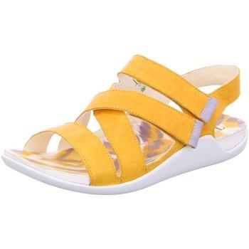 Schuhe Damen Sandalen / Sandaletten Think Sandaletten SANDAAL 6-86536-67 gelb