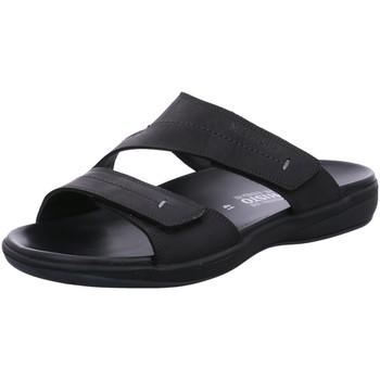 Schuhe Herren Sandalen / Sandaletten Mephisto Offene pantolette STAN 100 Stan 100 schwarz