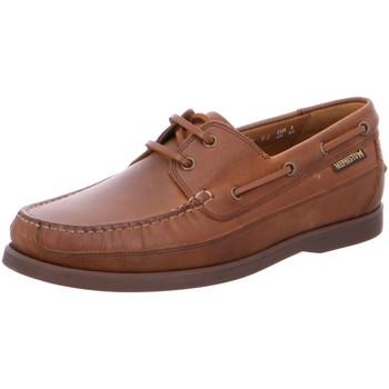 Schuhe Herren Bootsschuhe Mephisto Schnuerschuhe BOATING GRIZZLY 144 TOBACCO braun