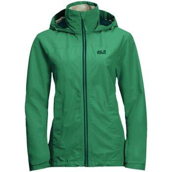 Kleidung Damen Windjacken Jack Wolfskin Sport EVANDALE JACKET W 1111191 4076 grün