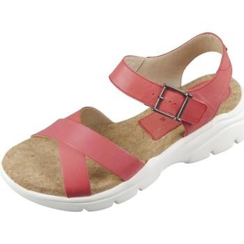Schuhe Damen Sandalen / Sandaletten Camel Active Sandaletten Vision 913.72-02 berry Waxy Velvet 913.72-02 rot