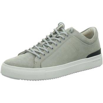 Schuhe Herren Sneaker Low Blackstone Premium H Halb PM56 Silver Scone grau