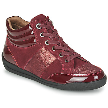 Schuhe Damen Sneaker High Damart 57079 Bordeaux