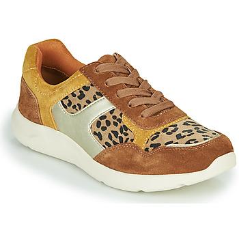 Schuhe Damen Sneaker Low Damart 62328 Beige / Gelb