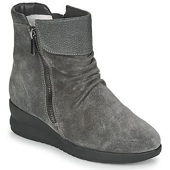 Schuhe Damen Boots Damart 64305 Grau