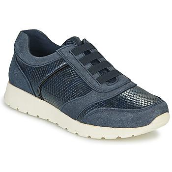 Schuhe Damen Sneaker Low Damart 63737 Blau