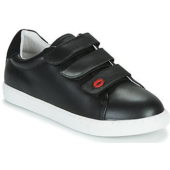 Schuhe Damen Sneaker Low Bons baisers de Paname EDITH LEGENDE Schwarz