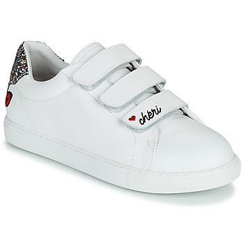 Schuhe Damen Sneaker Low Bons baisers de Paname EDITH CHERI Weiss