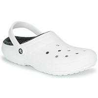 Schuhe Pantoletten / Clogs Crocs CLASSIC LINED CLOG Weiss