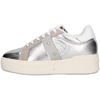 Schuhe Damen Sneaker Low Blauer S0madeline02/lam Silber