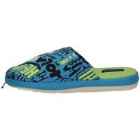 Schuhe Jungen Hausschuhe De Fonseca ROMA E K617 BLUE
