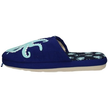 Schuhe Jungen Hausschuhe De Fonseca ROMA E U610 BLUE