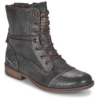 Schuhe Damen Boots Mustang 1157508 Grau