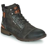 Schuhe Herren Boots Mustang 4140504 Grau