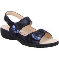 Schuhe Damen Sandalen / Sandaletten Mephisto Sandaletten Mobils Sandalette GETHA Getha 2755-30055 blau