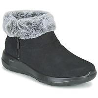 Schuhe Damen Boots Skechers ON-THE-GO JOY Schwarz