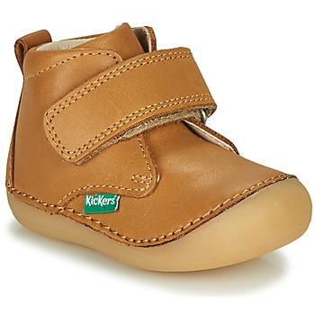 Schuhe Kinder Boots Kickers SABIO Camel