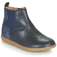 Schuhe Mädchen Boots Kickers VERMILLON Marine
