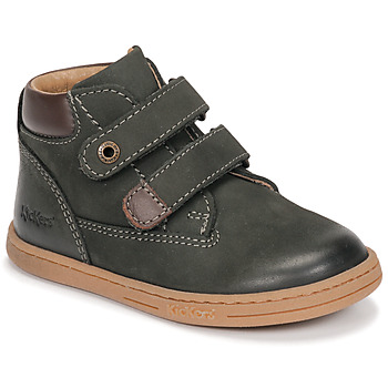 Schuhe Jungen Boots Kickers TACKEASY Kaki