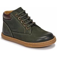 Schuhe Jungen Boots Kickers TACKLAND Kaki