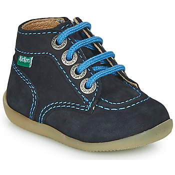 Schuhe Jungen Boots Kickers BONZIP-2 Marine