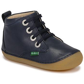 Schuhe Kinder Boots Kickers SONIZA Marine