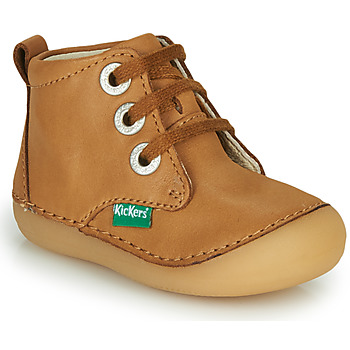 Schuhe Kinder Boots Kickers SONIZA Camel