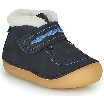 Schuhe Mädchen Boots Kickers SOETNIC Marine