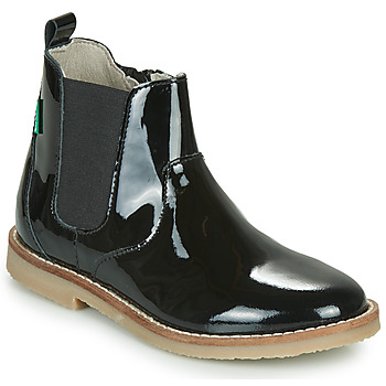 Schuhe Mädchen Boots Kickers TYPIK Schwarz