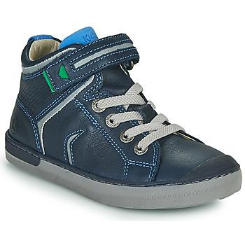 Schuhe Jungen Sneaker High Kickers IRELAS Marine / Blau