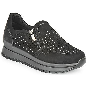 Schuhe Damen Sneaker Low IgI&CO DONNA ANISIA Schwarz