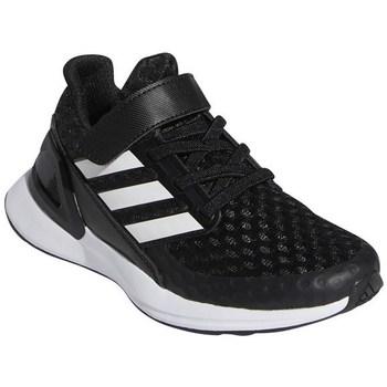 Schuhe Kinder Laufschuhe adidas Originals Rapidarun Weiß, Schwarz