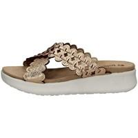Schuhe Damen Pantoffel Inblu DV 10 KUPFER