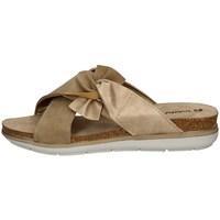 Schuhe Damen Pantoffel Inblu PG 18 SAND