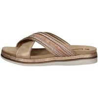 Schuhe Damen Pantoffel Inblu SA 26 KUPFER