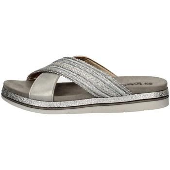 Schuhe Damen Pantoffel Inblu SA 26 SILVER
