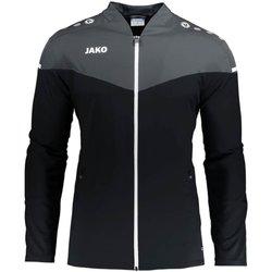 Kleidung Damen Trainingsjacken Jako Sport Champ 2.0 Präsentationsjacke F08 9820 schwarz