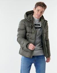 Kleidung Herren Daunenjacken Teddy Smith B-OVER Kaki