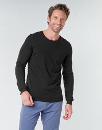 Kleidung Herren Pullover Teddy Smith POKI Schwarz