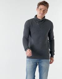 Kleidung Herren Pullover Teddy Smith P-SIMON Schwarz