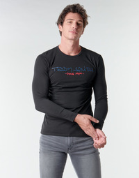 Kleidung Herren Langarmshirts Teddy Smith TICLASS BASIC M Schwarz