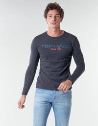 Kleidung Herren Langarmshirts Teddy Smith TICLASS BASIC M Marine