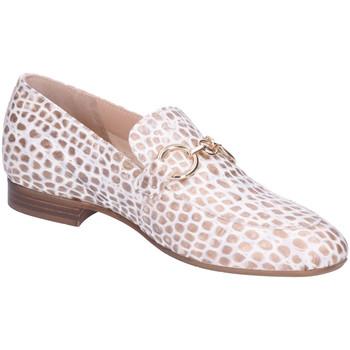Schuhe Damen Slipper Maripé Slipper Fuerte Oro Morsetto Oro 30302-8905-1 weiß