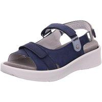 Schuhe Damen Sandalen / Sandaletten Wolky Sandaletten GLOBE 0535013 800 blau