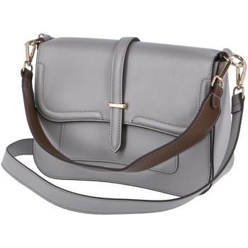 Taschen Damen Umhängetaschen Seidenfelt Mode Accessoires Bergen 1002-103 89 mid grey grau