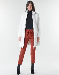 Kleidung Damen Mäntel Marciano MARBREE FUR COAT Creme